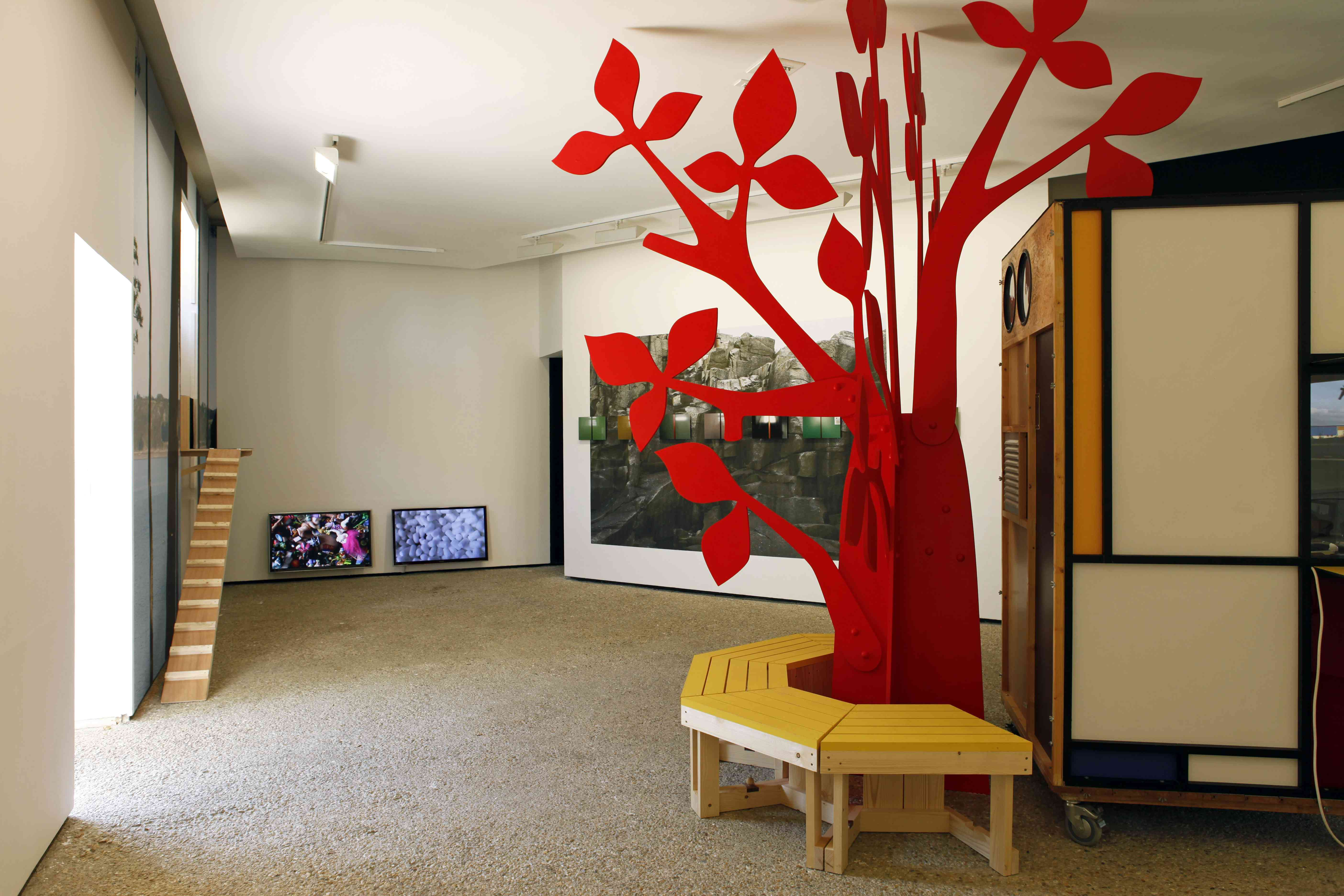2014, Flying Black Cow Utopia Club, David Michael Clarke, galerie du Dourven, Trédrez-Locquémeau
