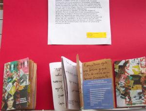 2017 exposition des éditions au CDI