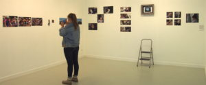 juin 2017 exposition des photographies des élèves de seconde arts plastiques à L'Imagerie de Lannion