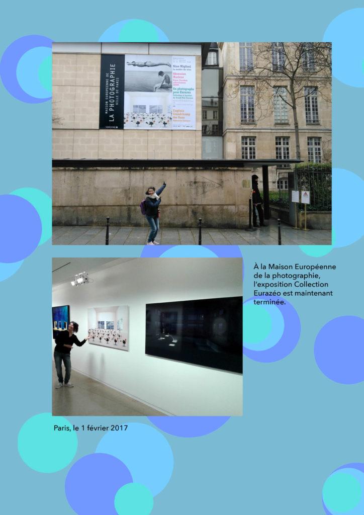 2018, Muriel Bordier expose à la maison européenne de la photographie à Paris