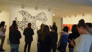 2018 visite de l'exposition de Didier Frouin-Guillery à L'Imagerie de Lannion